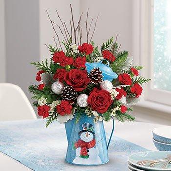 Teleflora's Snowy Daydreams Bouquet