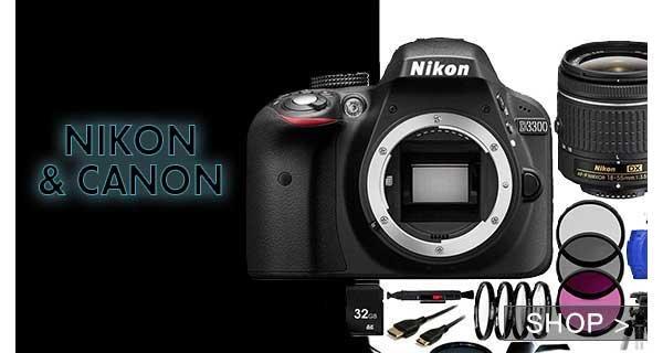 nikon & canon