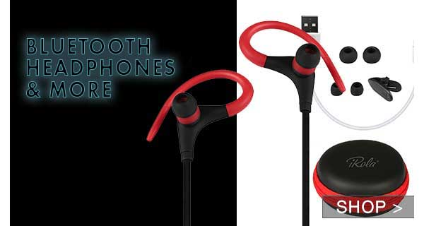 BLUETOOTH HEADPHONES & MORE