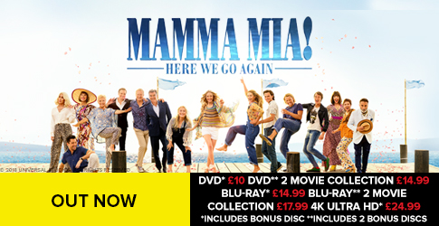 Zoomcouk Zoomcouk Mamma Mia 2 Out Now Cyber Monday Milled