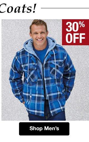 Shop Men's Coats!