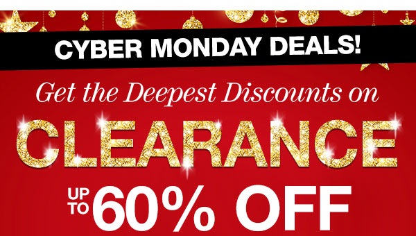 Clearance up to 60% OFF!