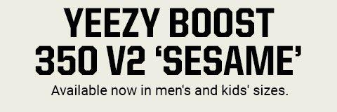 finest selection f43b1 0ec93 Eastbay: adidas Originals YEEZY BOOST 350 V2 'Sesame ...
