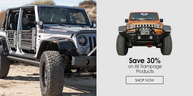 Save 30% on All Rampage Products