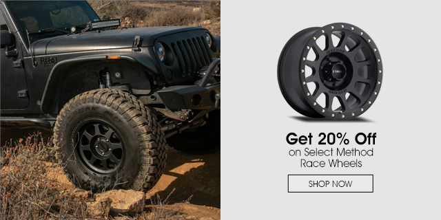 20% off select Method Race Wheels