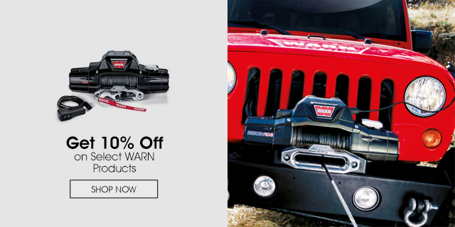 10% Off Select WARN Products