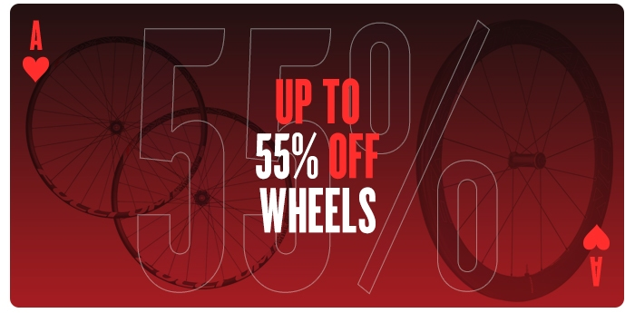 Up to 55% off Wheels
