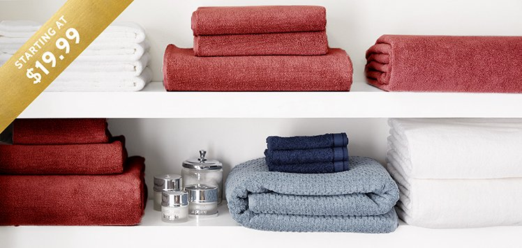 Most-Wanted Bath Towels & Accessories
