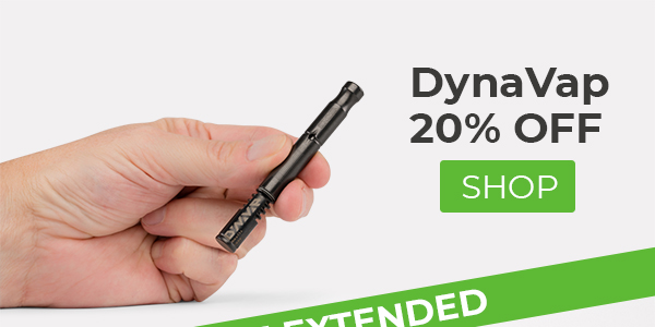 Planet of the Vapes: Holiday Sale Extended: DynaVap & POTV
