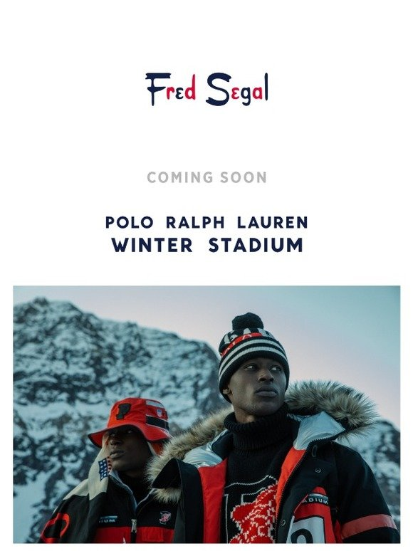 c7fde621d Fred Segal: Coming Soon ❄️The Polo Ralph Lauren Winter Stadium Collection  #PoloLtd | Milled