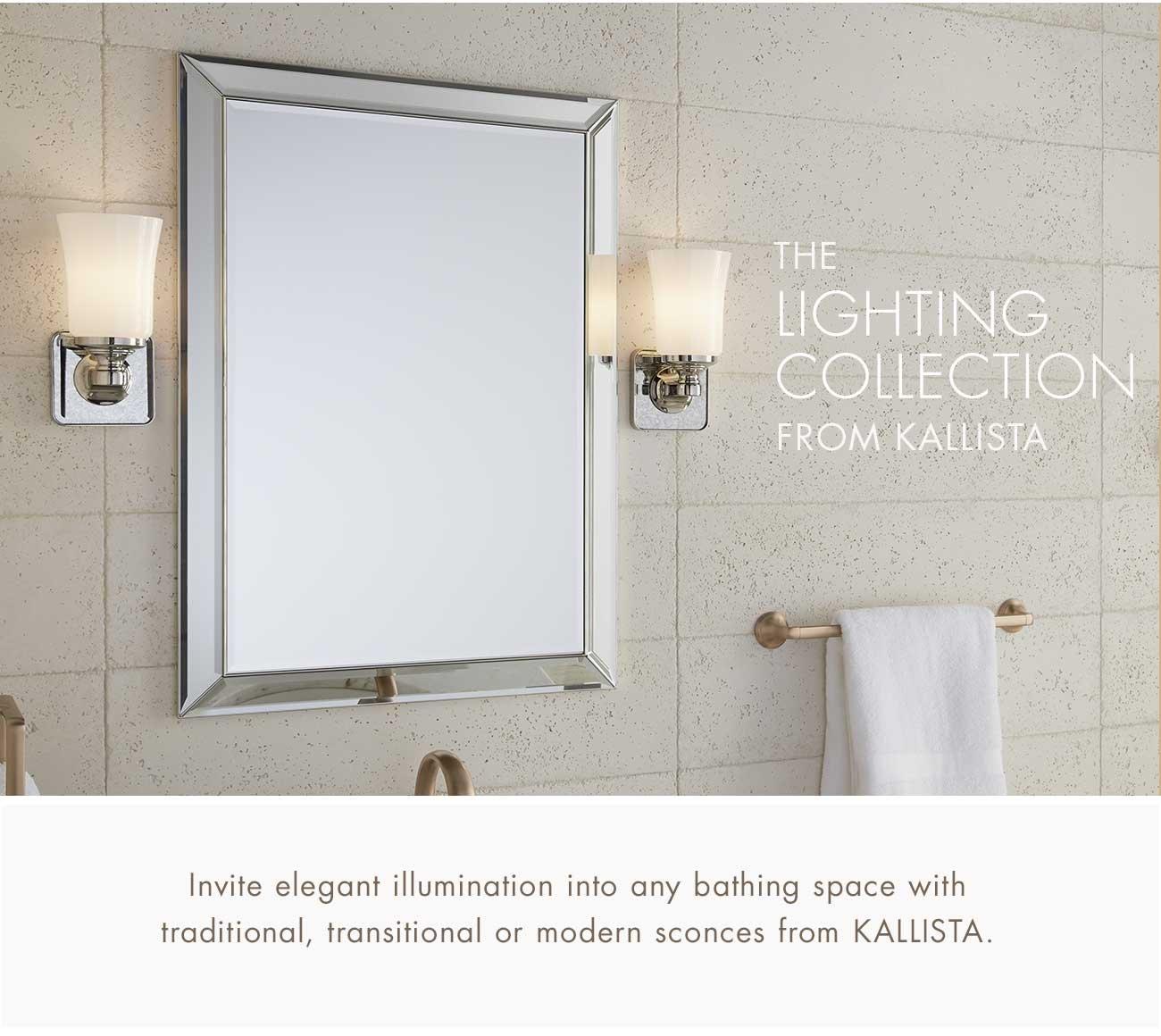 Kallista Illuminate Your Bathroom With Lighting