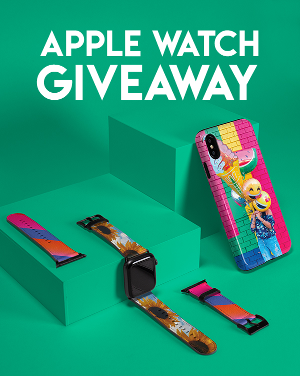SkinIt com: Giveaway ⌚ Enter to Win an Apple Watch! | Milled
