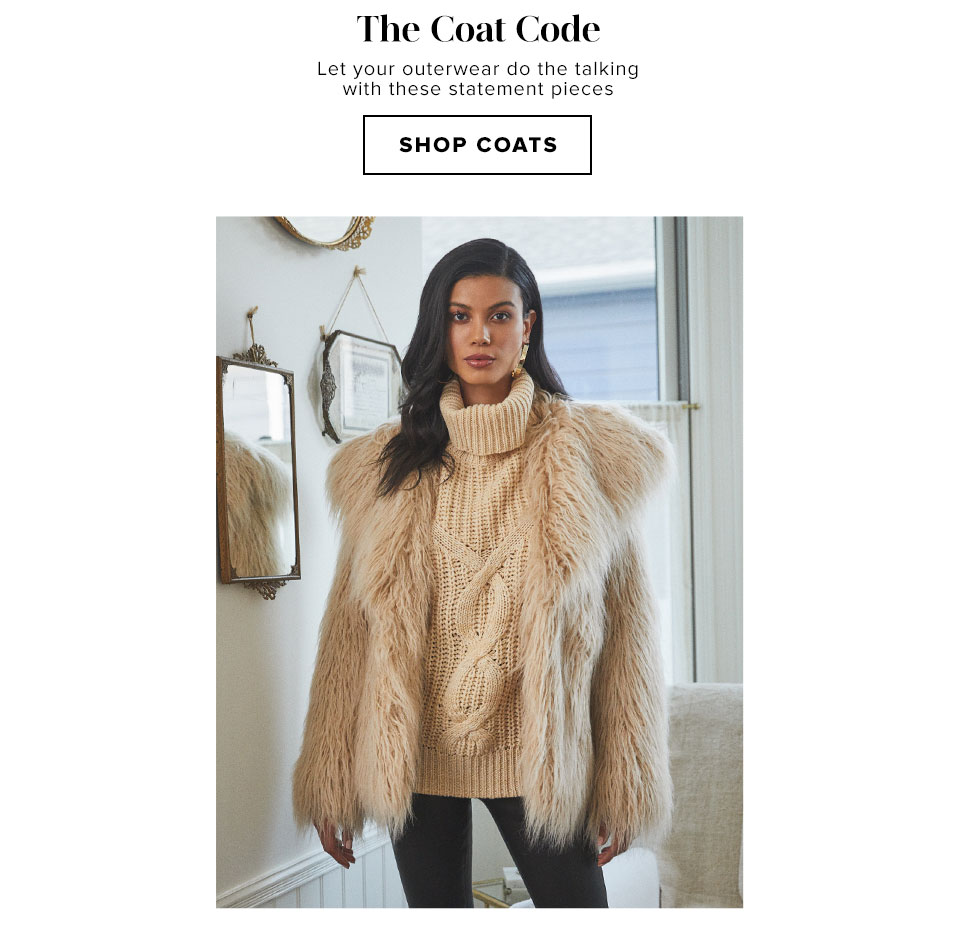 The Coat Code - Shop Coats