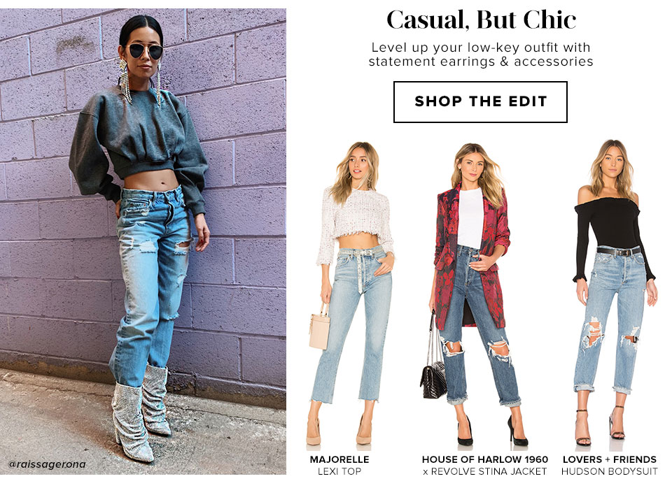 Casual, But Chic - Shop The Edit