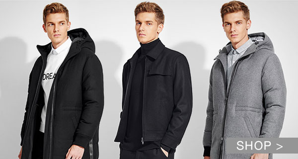 MEN'S TRENDING OUTERWEAR