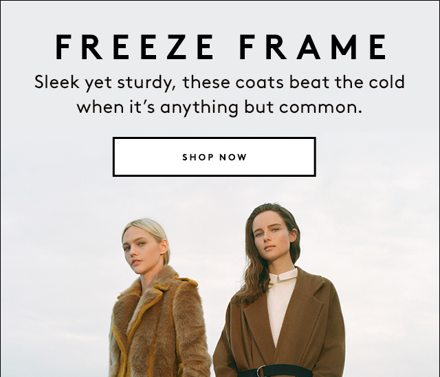 You can look good and keep warm this winter.