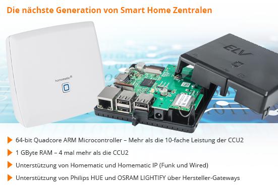Elv At Projekte Rund Um Die Smart Home Zentrale Ccu3 Realisieren
