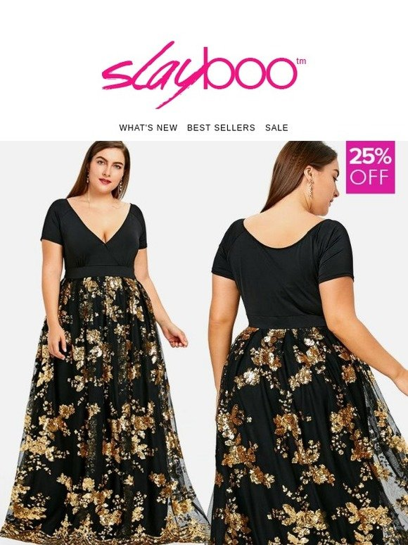 23796eb96ea SLAYBOO  🚨 25% OFF Plus Size Party Dresses