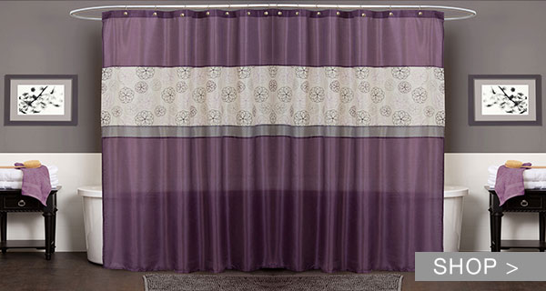 SHOWER CURTAINS YOU'LL LOVE