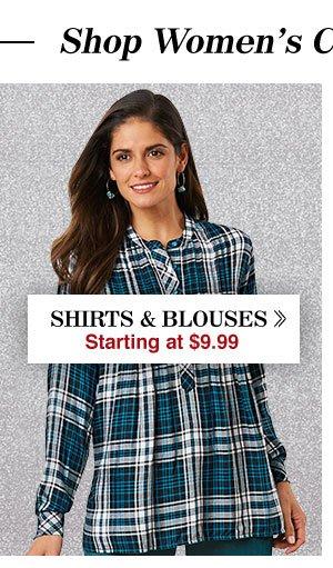 Shop Women's Shirts & Blouses!