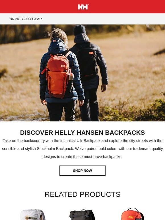 Må dåligt skam Diplomat  Helly Hansen: Throw on Your Pack and Go | Milled