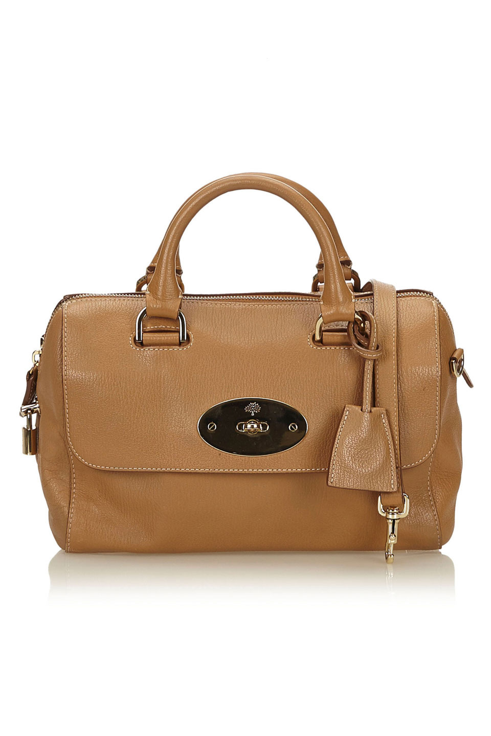 MULBERRY LEATHER DEL REY SATCHEL IN ...