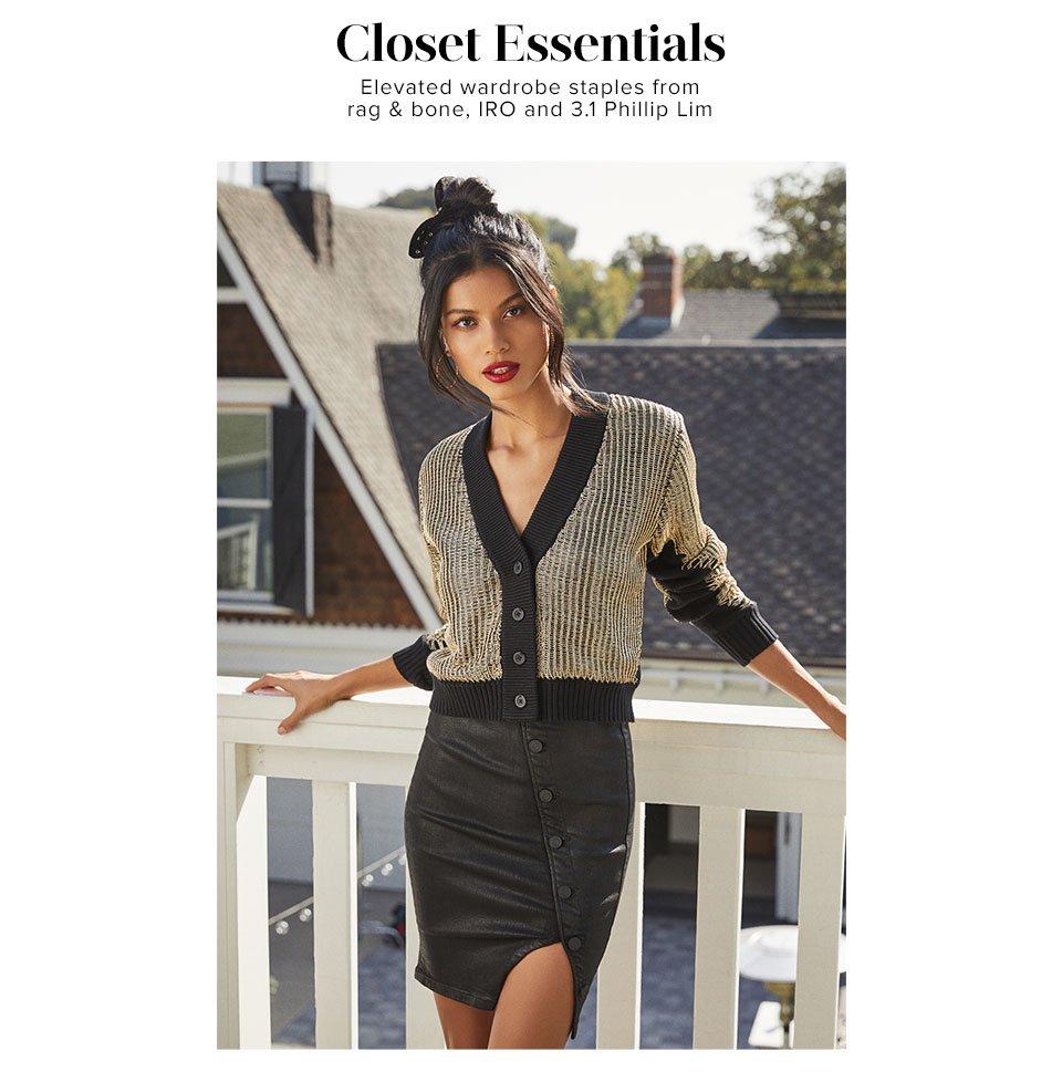 Closet Essentials - Shop The Edit