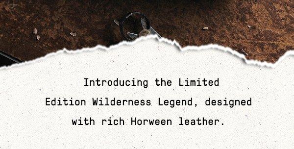9489af70ad3 MERRELL: GOING FAST! Only 350 Wilderness Legend Boots Left.   Milled