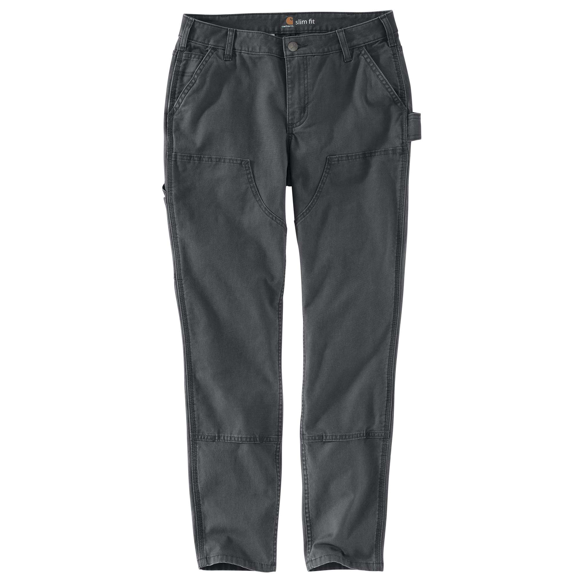 WOMEN'S SLIM-FIT CRAWFORD DOUBLE-FRONT PANT