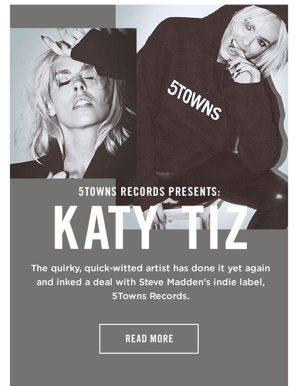 5Towns Records Presents: Katy Tiz