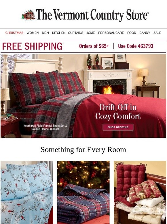 Vermont Country Store Essentials For Every Home Free Shipping Milled