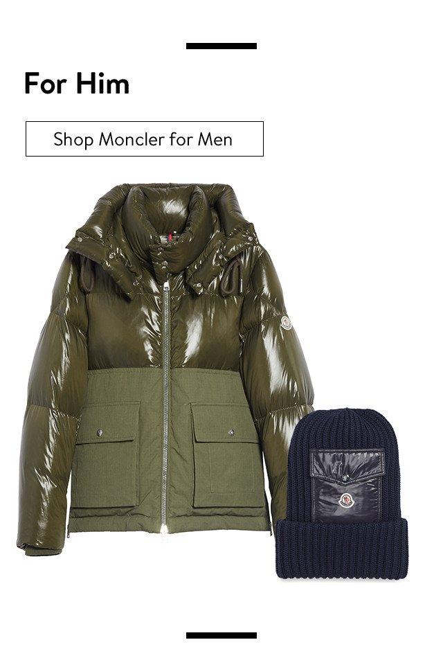 Moncler for men.