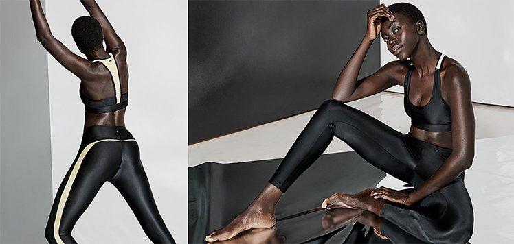 Up to 70% Off Black & White Yogawear