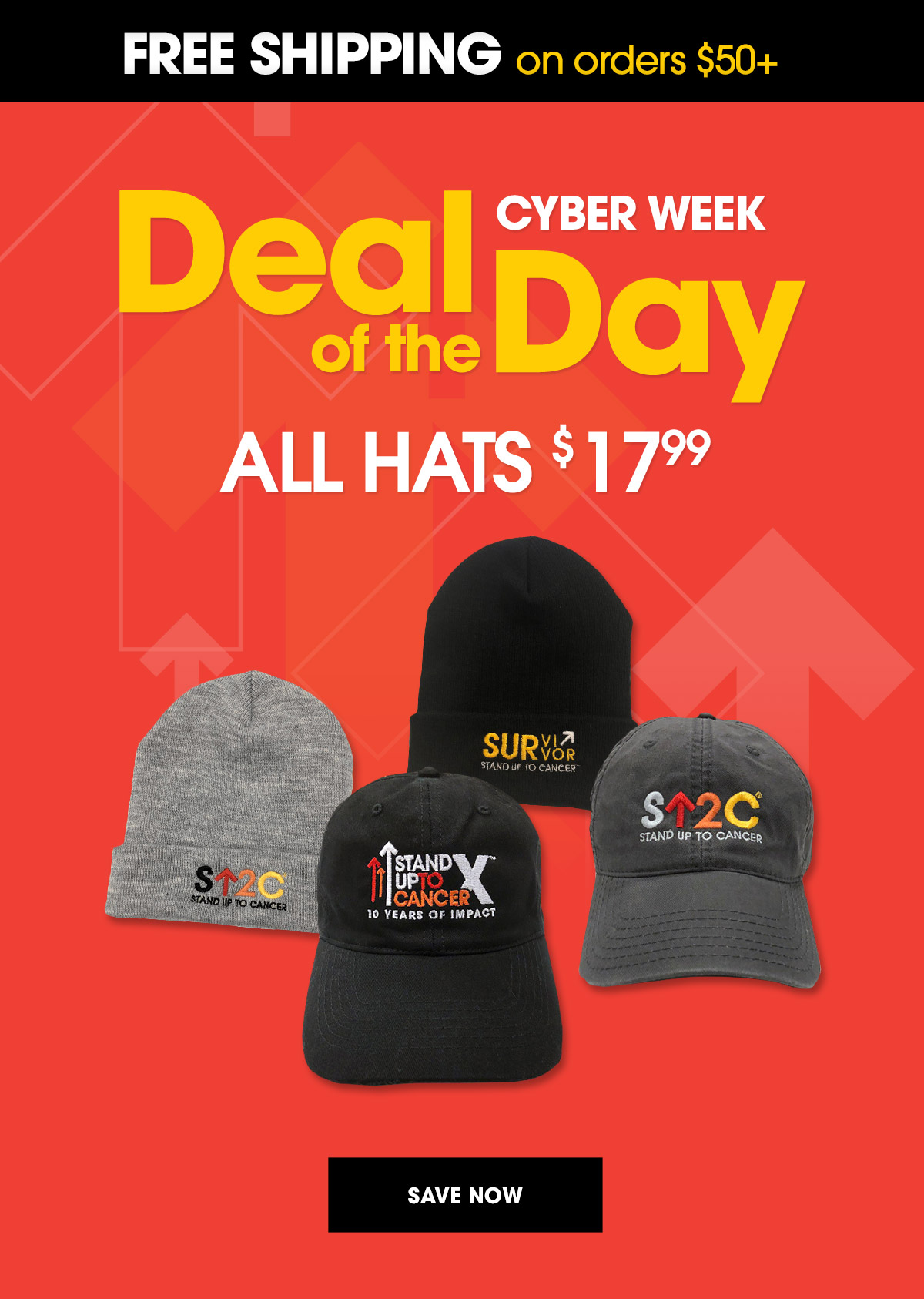 04ffbf09006 Stand Up To Cancer Shop  Cyber Week Continues - Up to 35% Off ALL ...