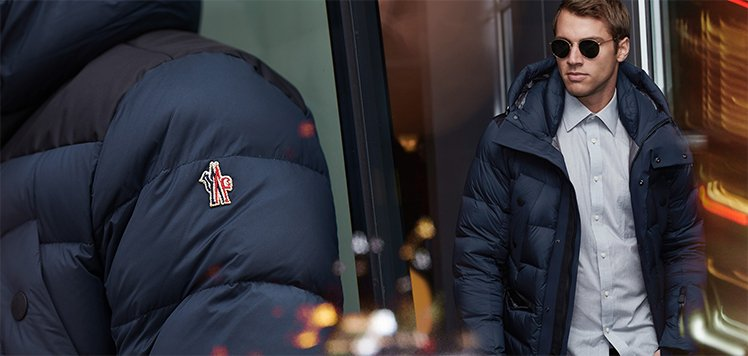 Premier Outerwear With Moncler
