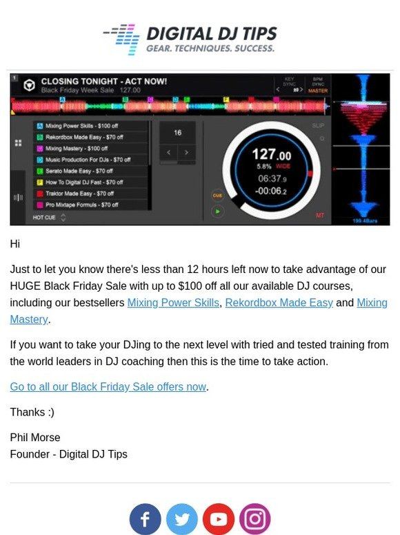 Learn To Dj With Virtual Dj Home - Online Video Course: ⚠ Action