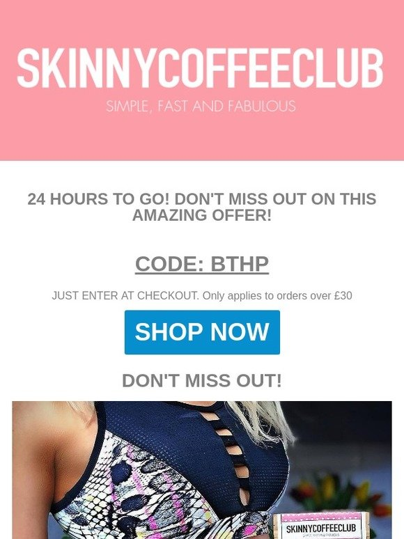 d0a4d25d467d6 Skinny Coffee Club Ltd  THIS WEEKEND ONLY - DON T MISS OUT 😍♥