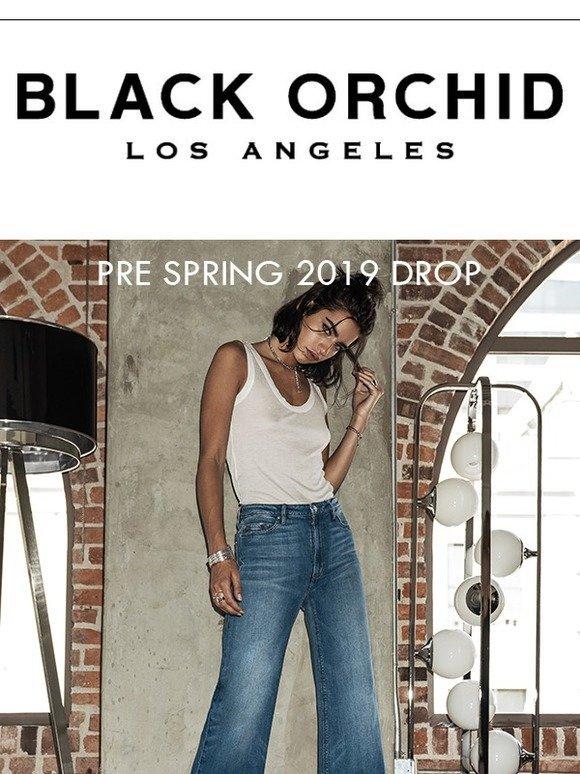 fd74d7f40dbf90 Black Orchid Denim: Pre-Spring 2019 Drop | Milled