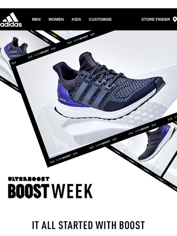 bb8ae93ca Adidas  BOOST WEEK  The original Ultraboost is out now