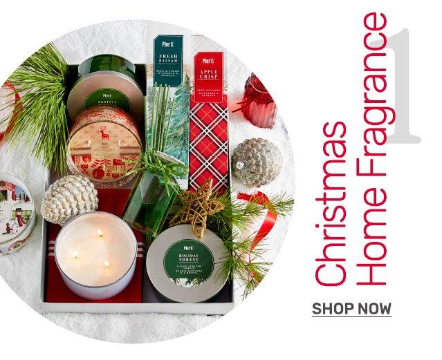 Shop Christmas fragrances.