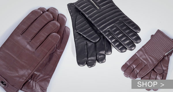 DI VALDI LEATHER GLOVES FOR HIM & HER