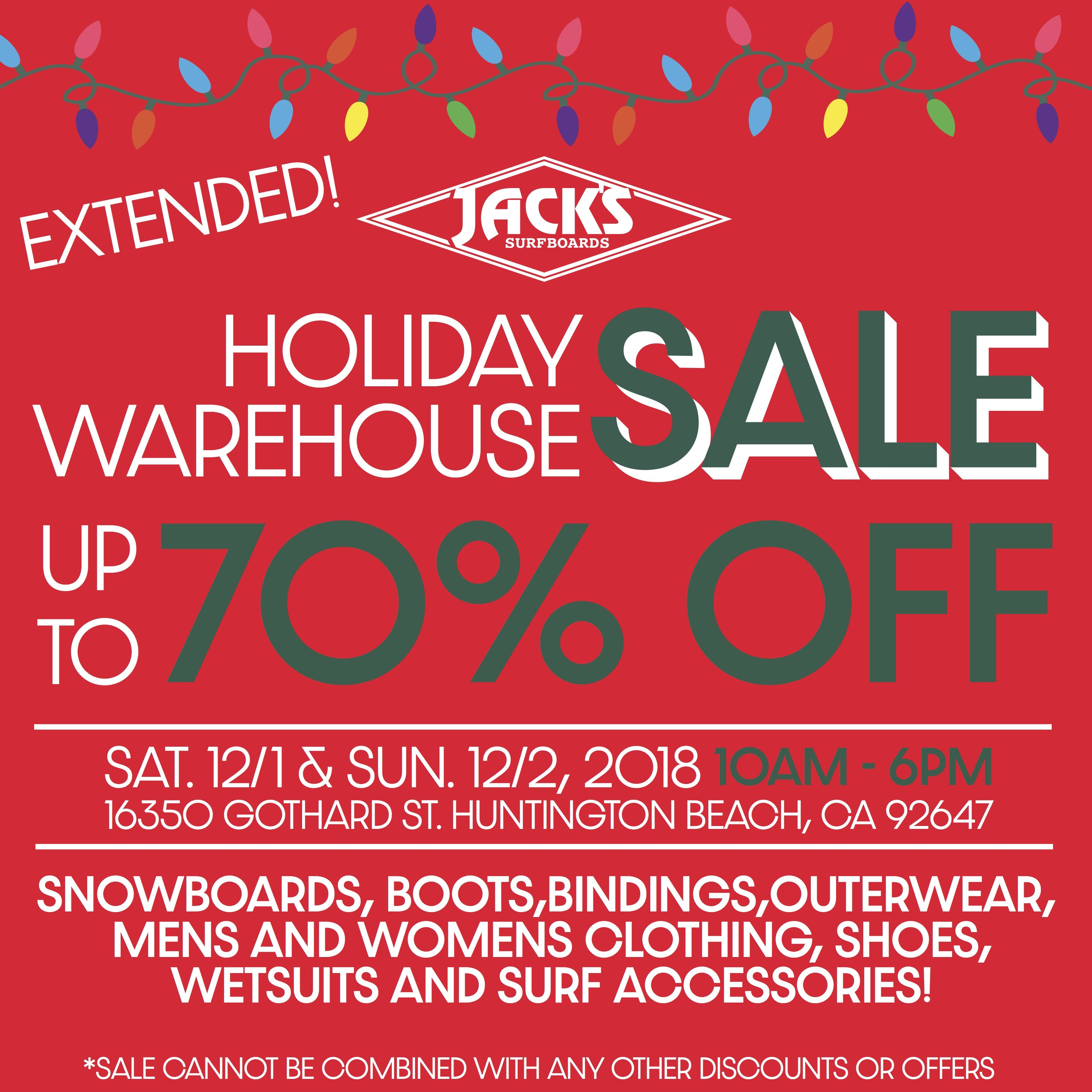 f256cfc96994 Jack s Surfboards  Our Warehouse Sale Continues!