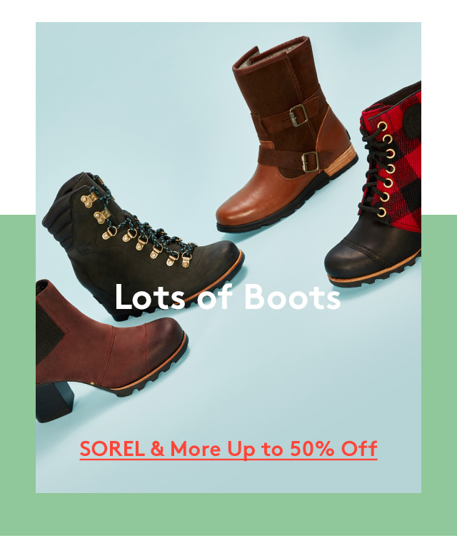 Lots of Boots | SOREL & More Up to 50% Off
