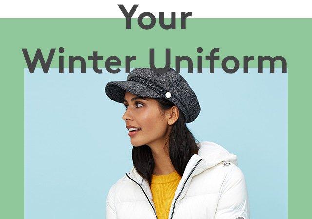 Your Winter Uniform