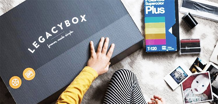 Legacybox: Up to 60% Off Media Digitization