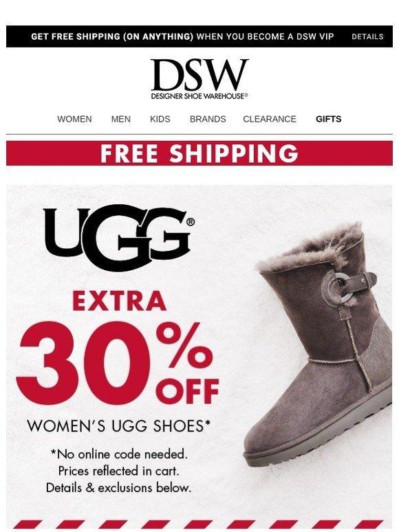 DSW: EXTRA 🎉 30% 🎉 OFF 🎉 UGG 🎉   Milled