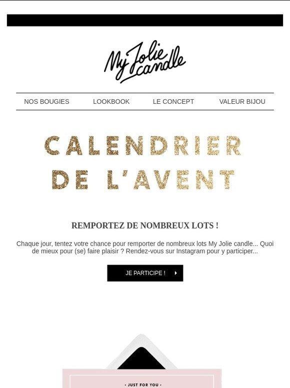 My Jolie Candle: Calendrier de l'avent My Jolie 🎁 | Milled