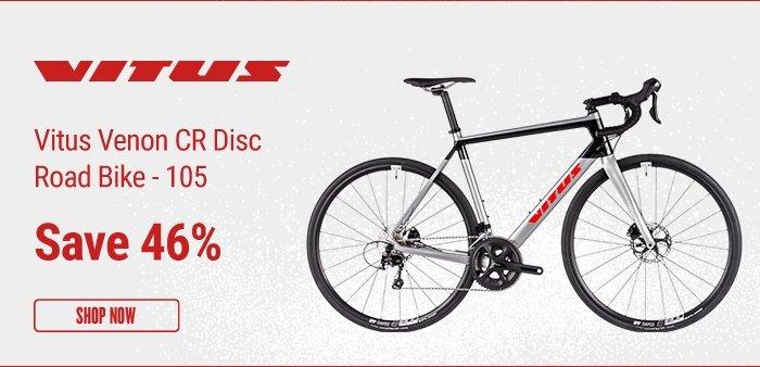 Vitus Venon CR Disc Road Bike - 105