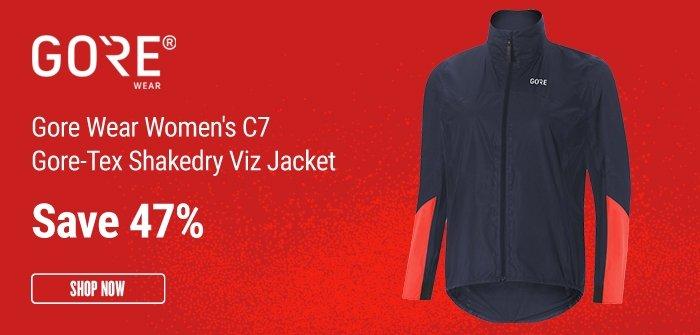 Gore Wear Women's C7 Gore-Tex Shakedry Viz Jacket
