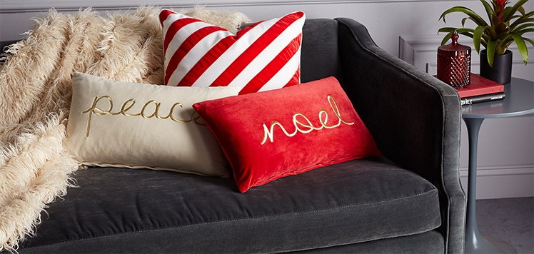 Up to 75% Off Festive Pillows